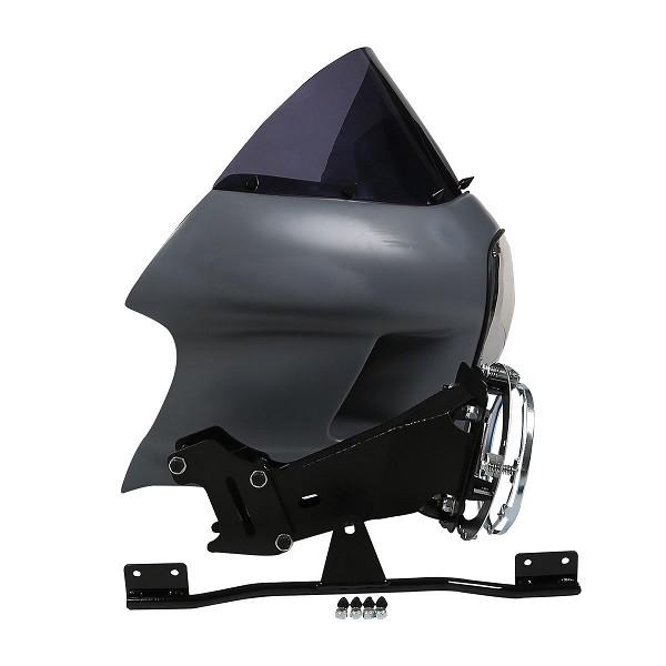 Tcmt Fairing Headlight Mount W   Windshield For Harley Dyna