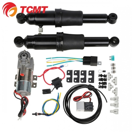 TCMT Rear Air Ride Suspension For Harley Touring Electra Street Tour
