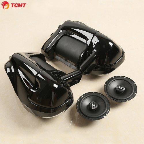 "Lower Vented Fairings Box Pods +6.5"" Speakers For Harley Electra Glide 1983-2013"