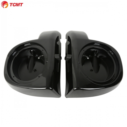 "6.5"" Speaker Pod Boxes Lower Vented Fairing For Harley Electra Road Glide 14-18"