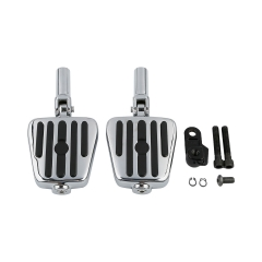 Male Mount Foot Pegs Pedals For Harley Softail FLS 12-17 FLSTSB 08-11 2010