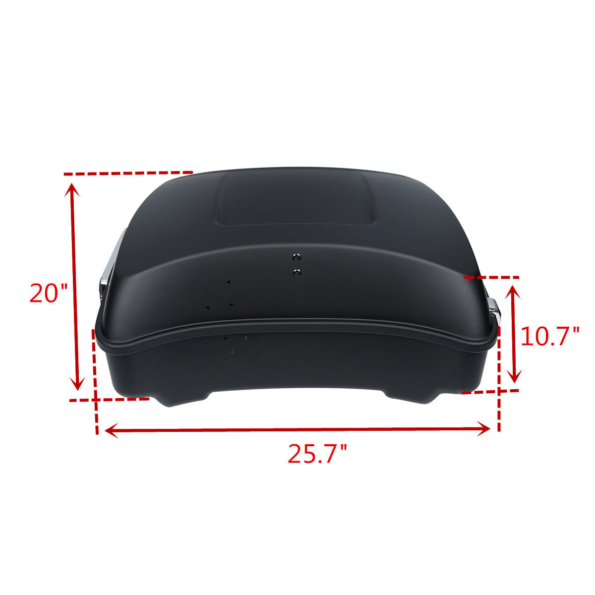 Chopped Tour Pak Trunk Backrest For Harley Touring Models 2014-2018