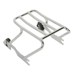 Chrome Detachable Solo Luggage Rack For Harley Davidson Sportster 883 1200 94-03
