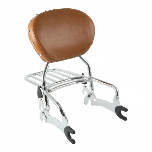 Backrest Sissy Bar W/ Luggage Rack
