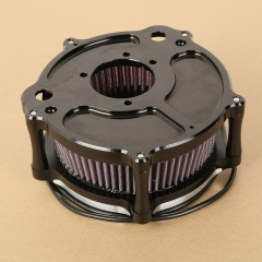 XF2906351 LED Air Cleaner Contrast Cut Kit For Harley Seventy Two 12-14 Forty Eight 09-14