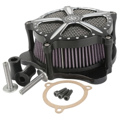 XF2906111 Black CNC Air Cleaner For Harley Ultra Electra Street Glide Road King 2008-2016