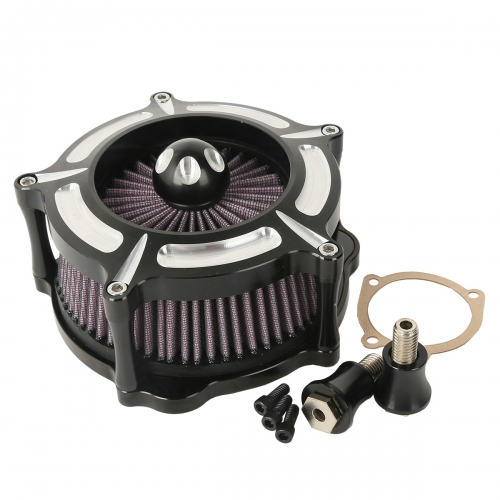 XF2906C02 Turbine Air Cleaner For Harley Sportster 1200 883 91-18 Iron 883 09-14 48 10-14