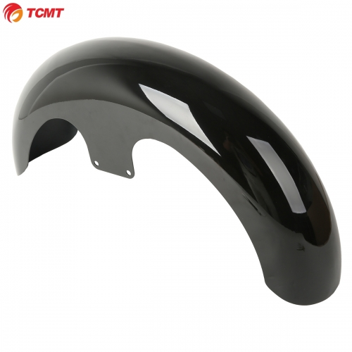 "Black 23"" Wrap Front Fender For Harley Touring Electra Street Road Glide King"