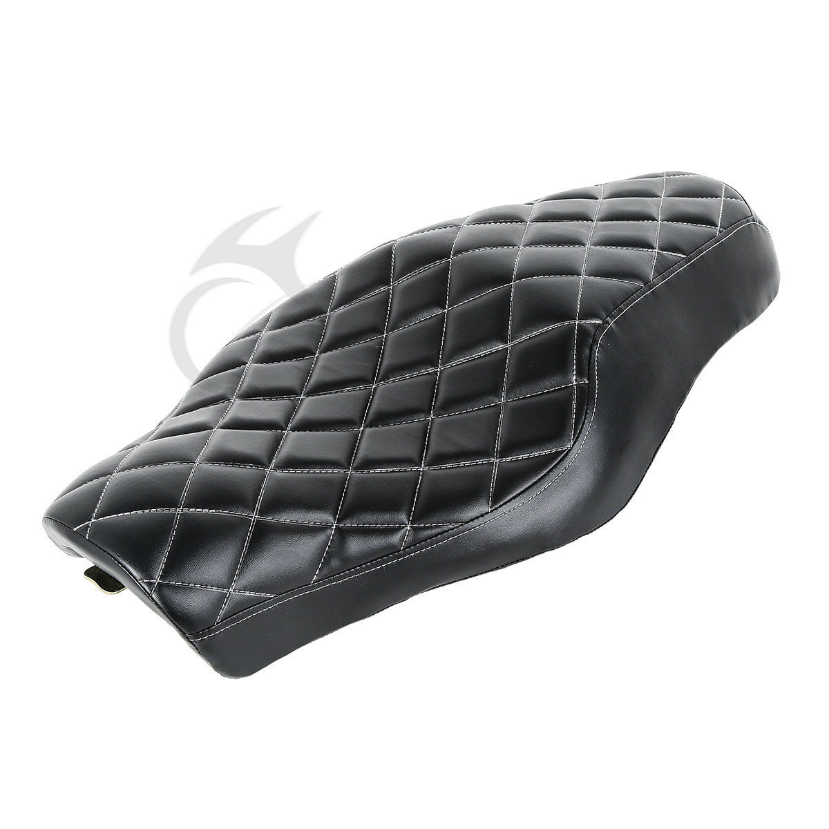 US Motorcycle Driver/&Rear Passenger Seat Two Up For Harley Sportster XL 883 1200