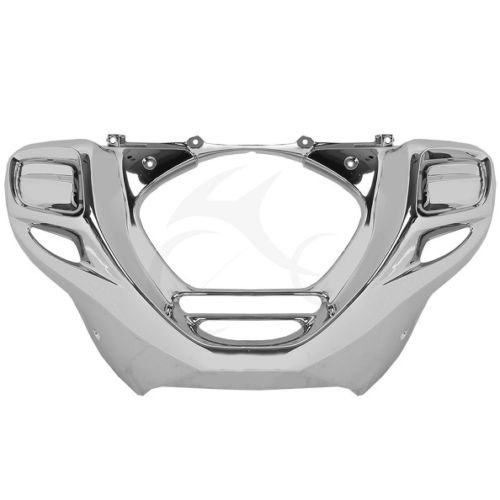 XF-GL1897-E Chrome Stock Front Lower Cowl Fairing For Honda Goldwing F6B 2013-2015