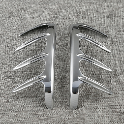 Bear Claw Mirror Accents Trims For Honda Goldwing GL1800 GL 1800 2001-2017
