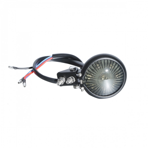 Smoke Mini Bate LED Tail Light For Harley Dyna Touring Chopper Bobber Motorcycle