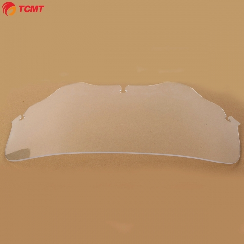 "TCMT XF290699 8"" Front Clear Windshield Windscreen For Harley FLHT FLHTC FLHX Touring 1996-13"