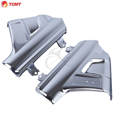 TCMT For Honda GL1800 Chrome Front Fender Cover Fairings For Honda Goldwing GL1800 2001-2005