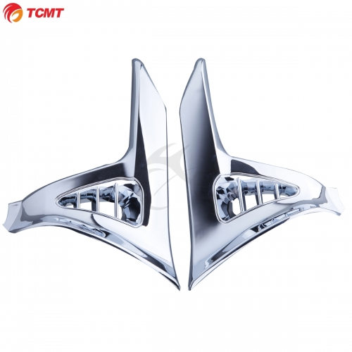 TCMT For Honda GL1800 Chrome Scuff Inserts Cover Trims Fit For Honda Goldwing GL1800 2001-2011