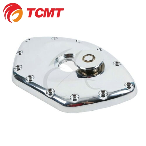 TCMT For Honda GL1800 Aluminum Chrome Timing Chain Cover Polished For Honda GL1800 GOLDWING 01-13