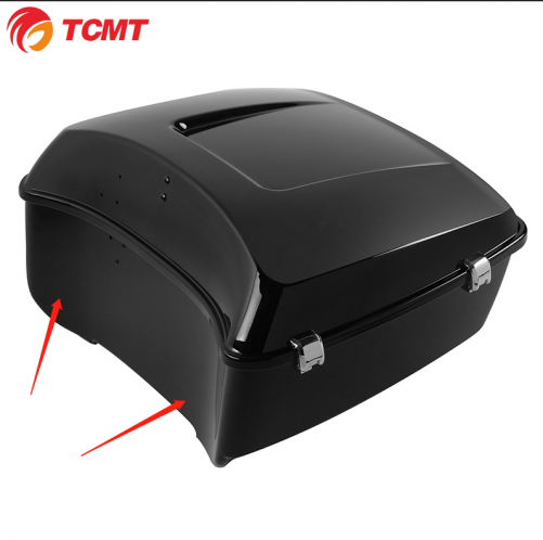 TCMT Don't with speaker hole King Trunk Pack Trunk pour Harley Touring Road Electra Street Glide 2014-2020