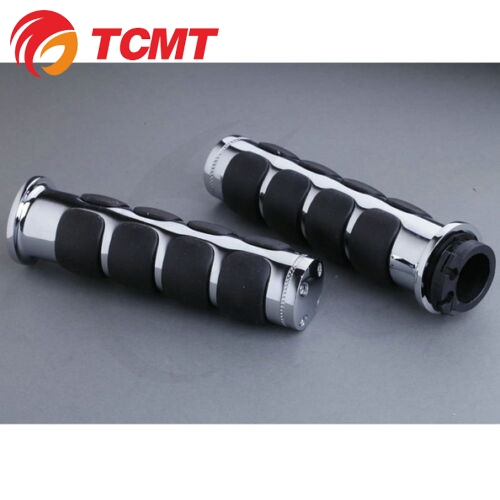 "TCMT 1"" Chrome Handle Hand Grips For Honda Goldwing Gold wing GL1800 2001-2013 TRHB118-C"