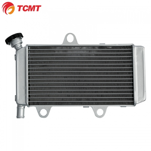 TCMT Radiator Engine Cooling Cooler For Yamaha XT 660 R X 2004-2014 Silver