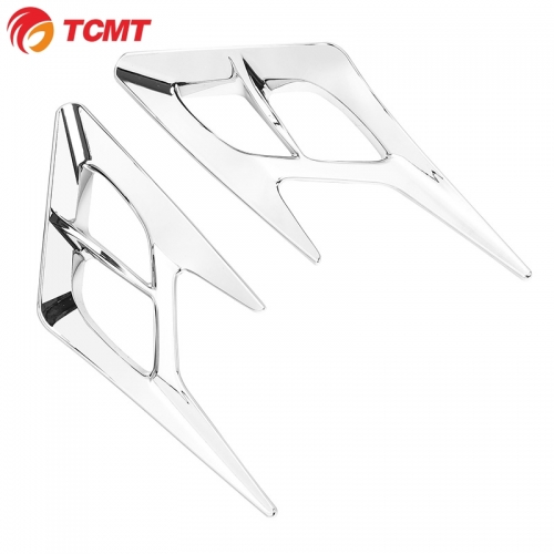 TCMT XF29012038-E Chrome Motorcycle Air Intake Cover Fit For Honda Goldwing 1800 GL1800 2018-2020