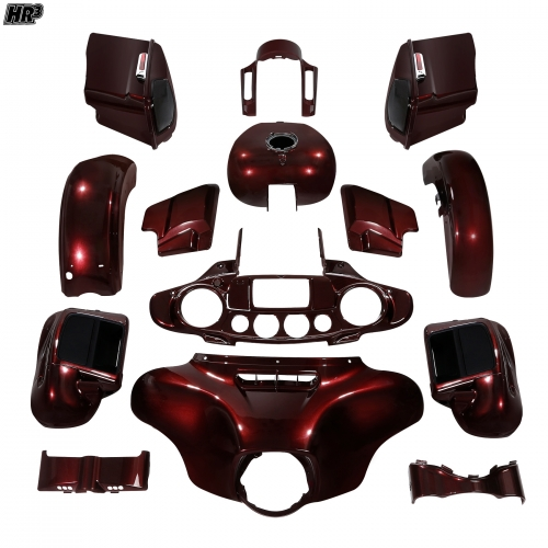 HR3 body kit/Fairing For Harley CVO Street Glide 2018-2019 Twisted Cherry